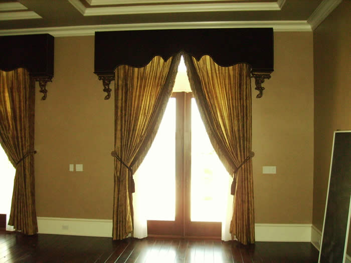 Suncraft Drapery Custom Made Cornices Designer Soft